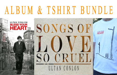 Ultan Conlon Album and Tshirt Bundle