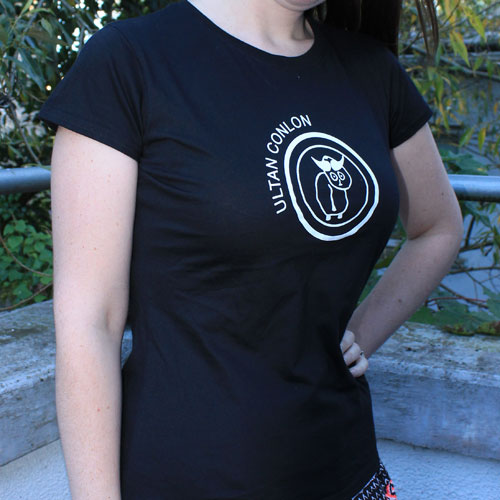 Ultan Conlon Tshirt The Universe Tune Girls Black