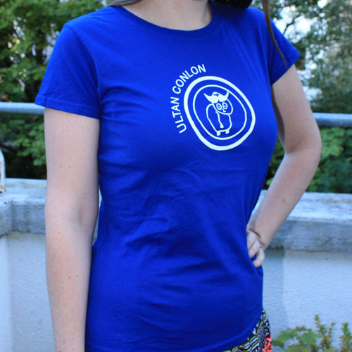 Ultan Conlon Tshirt The Universe Tune Girls Blue
